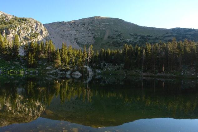 Reflected Truchas Peak
