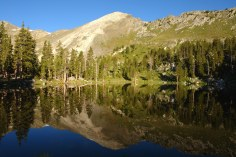 Truchas Lake Reflected