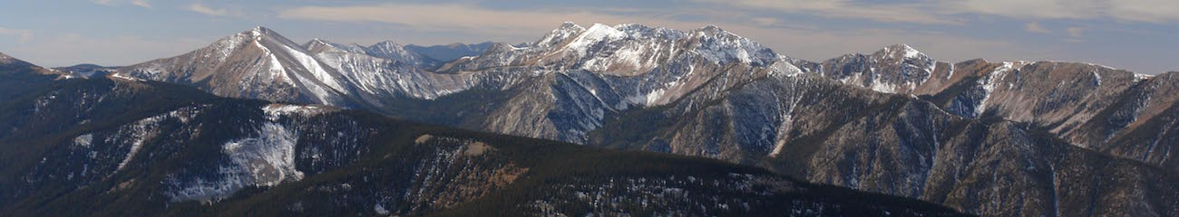 Truchas Peak from Jicarita Peak