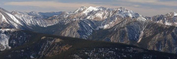 Truchas Peak from Jicarita Peak